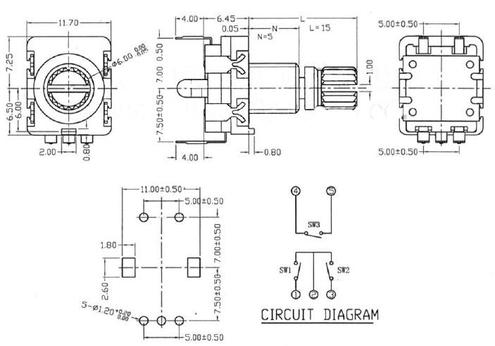 Schemat enkodera ENC-11